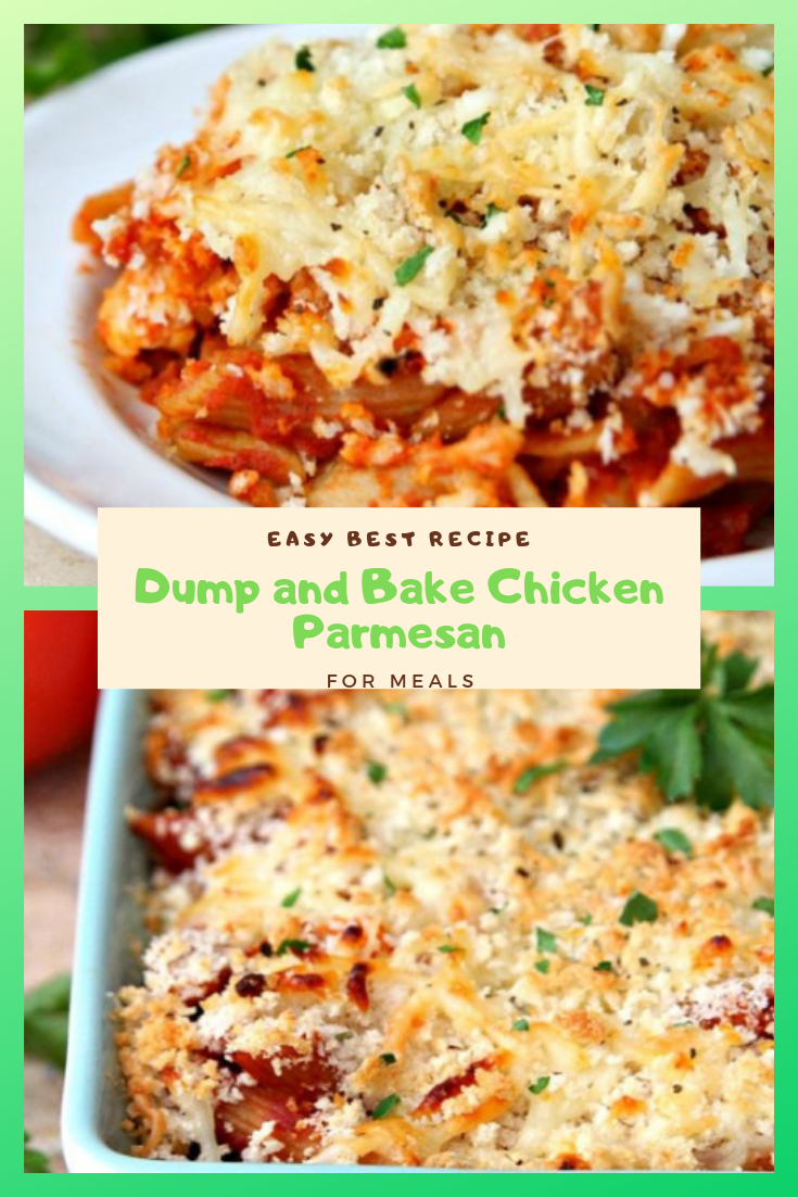Easy Best Recipe Dump And Bake Chicken Parmesan For Meals