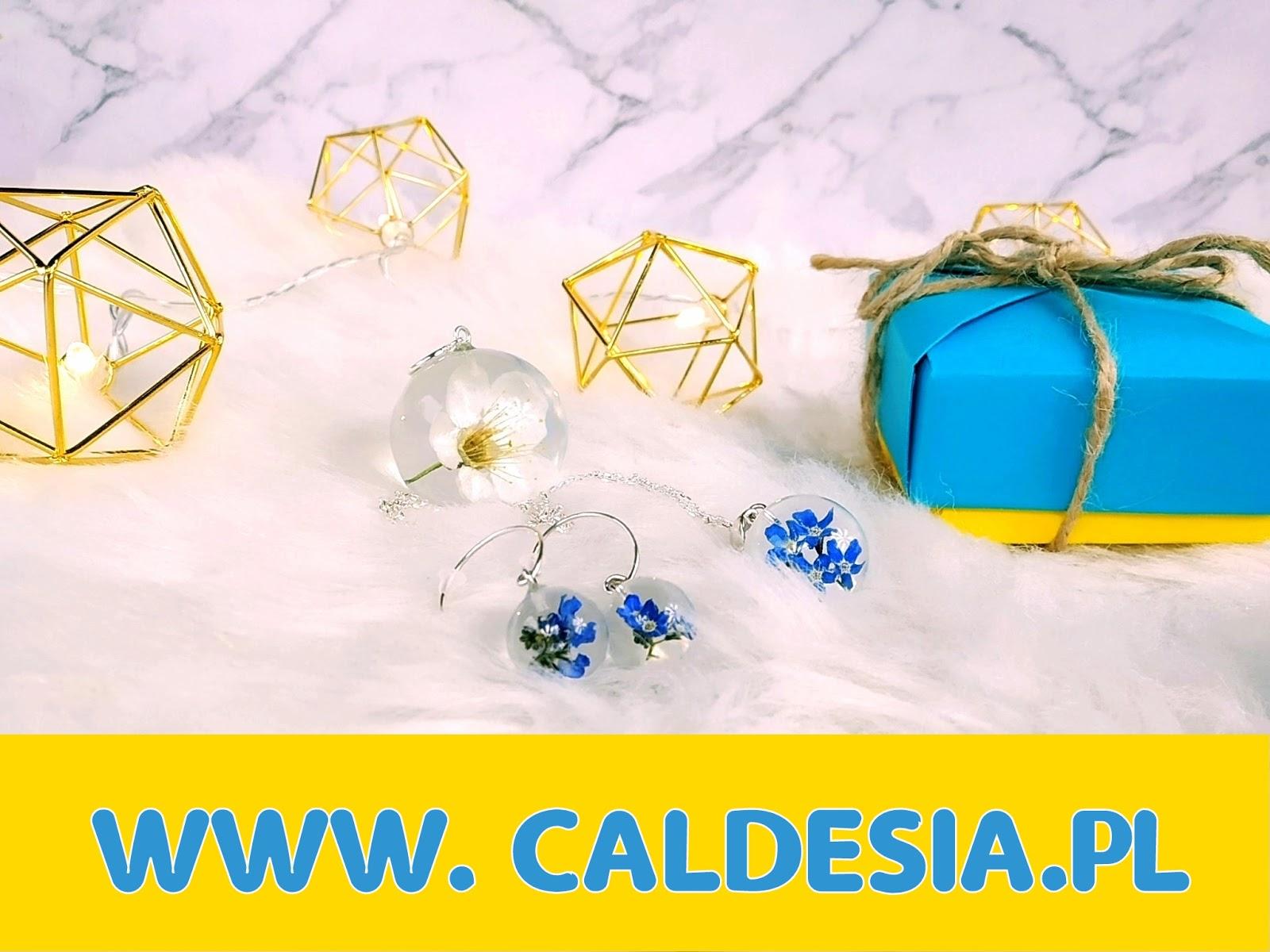 Wiosenne kwiaty skryte w cudownej biżuterii - CALDESIA.PL