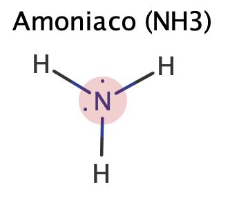 estructura de lewis del amoniaco
