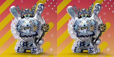 "Designer Con 2019 Exclusive La Flamme Ice Edition Dunny 8"" Vinyl Figure by Junko Mizuno x Kidrobot"