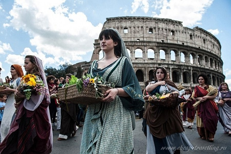Жители в Италии