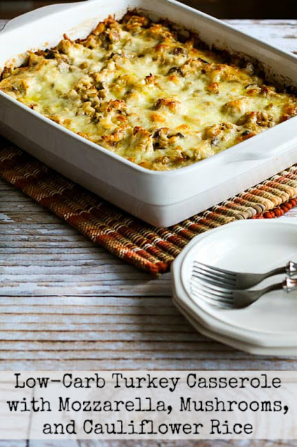 low carb ham and cauliflower casserole au gratin this low