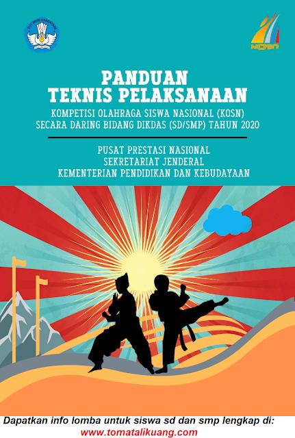 juknis o2sn kosn dikdas sd smp tahun 2020 daring online pdf tomatalikuang.com