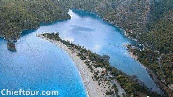 Oludeniz, the beautiful city of Turkey: