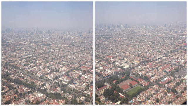Mexico City from the sky
