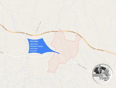 PETA : Desa Wantilan, Kecamatan Cipeundeuy