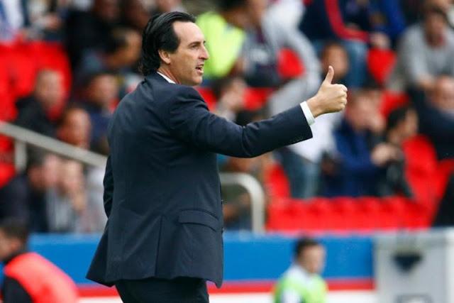 Emery PSG Ligue 1