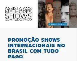 Cadastrar Promoção Dumont FM Shows Internacionais Brasil 2019 Tudo Pago
