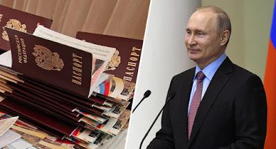 """Путін спростив отримання громадянства РФ для осіб із """"соціокультурно"""" близьких країн"""