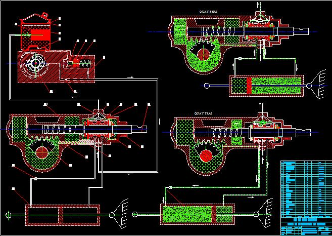 trợ lực thủy lực hệ thống lái