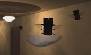 ¿Insectos espias? ¿Mosquitos robóticos? ¿Cosas del Gran Hermano o ...?
