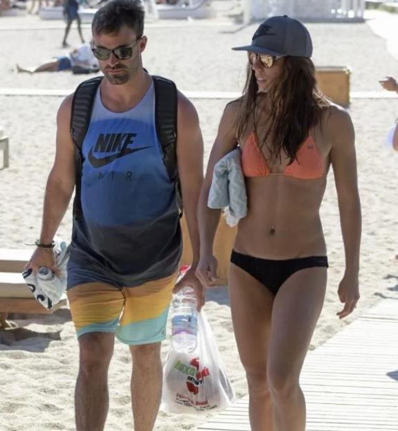 Katerina Stefanidi with Bikini in Mykonos Beach