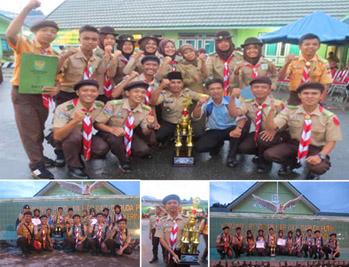 MAN Kemantan Raih Juara Pertama LKBB Antar Gudep SMA/MAN Piala Dandim 0417 Kerinci