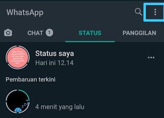 Cara Menyembunyikan Status Whatsapp 9