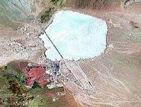 صورة المنطقة 51 الامريكية السرية التي تم فيها تصوير هبوط الانسان الكاذب على سطح القمر