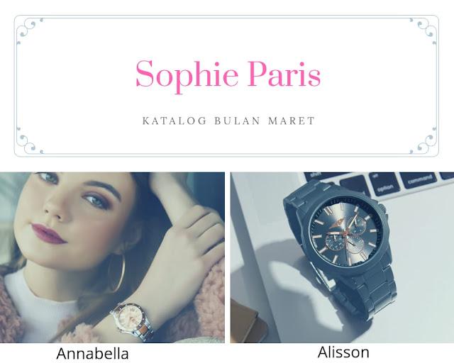 Fungsi jam tangan Sophie Paris