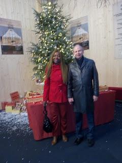 Pierre et Madeleine Scherb à l'Opéra des Nations