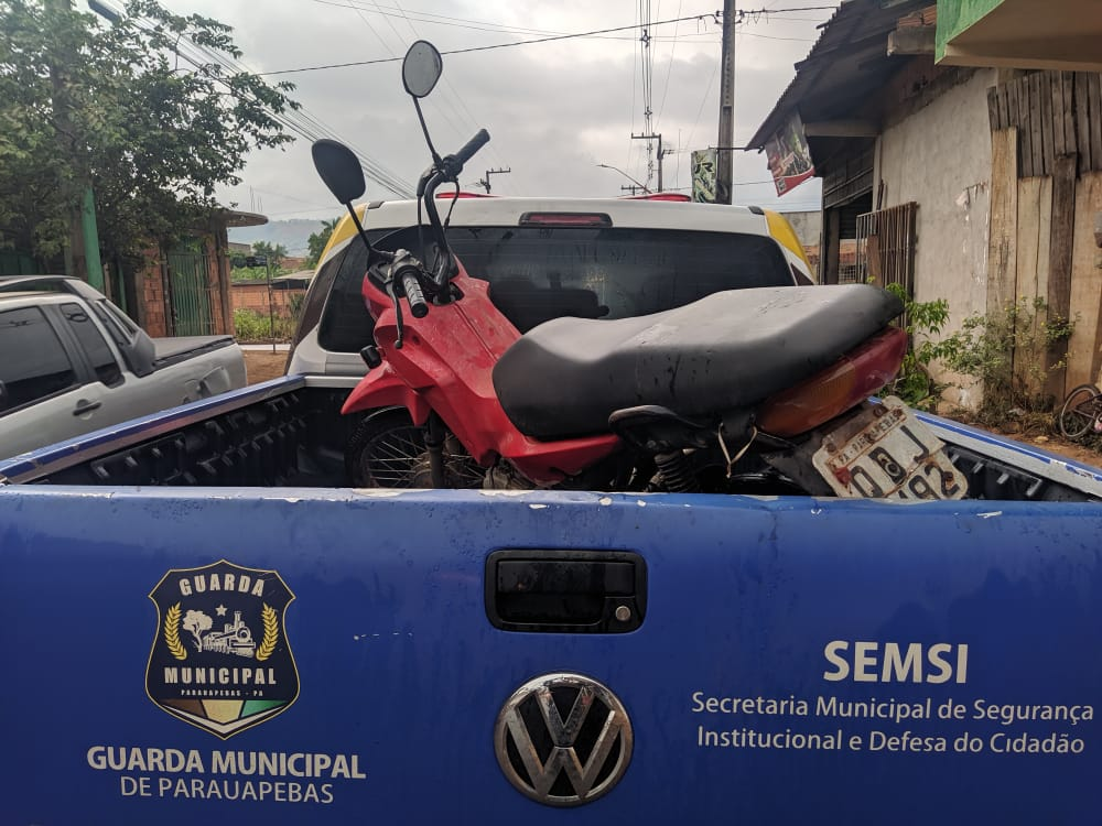 Guarda Municipal prende suspeito de roubar uma moto e cinco sacos de cimento - Portal Pebão