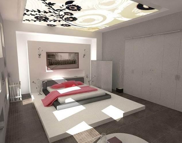 Ruangan Kamar Rumah minimalis 1 antai dekorasi hangat