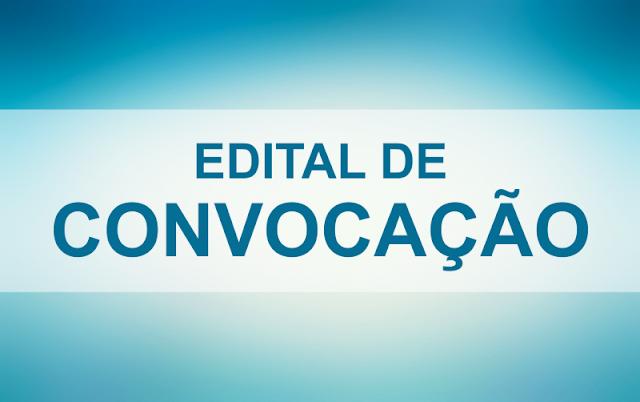 Edital de Convocação do ano Legislativo 2021