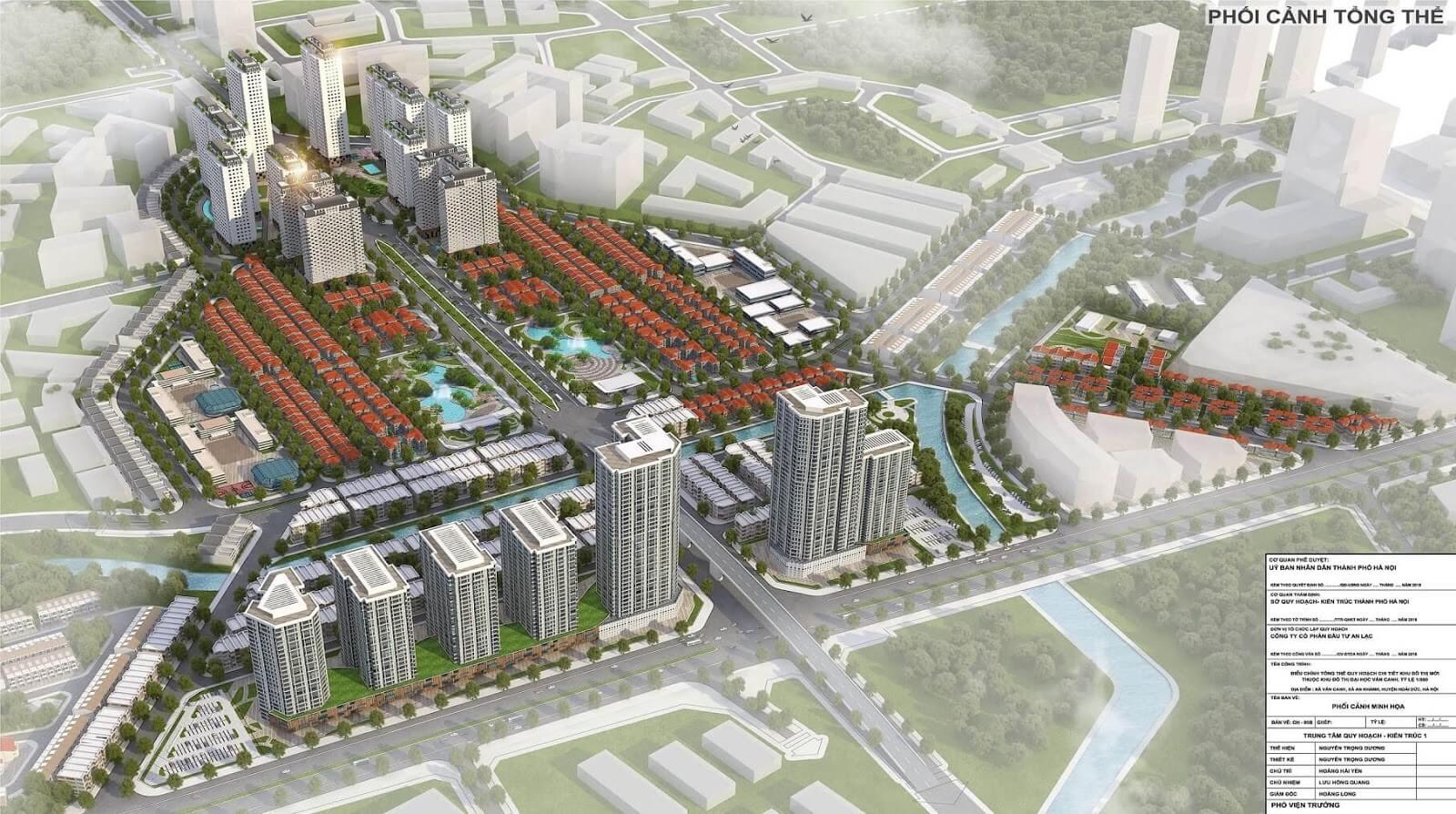 An Lạc Green Symphony - khu đô thị đáng sống phía Tây