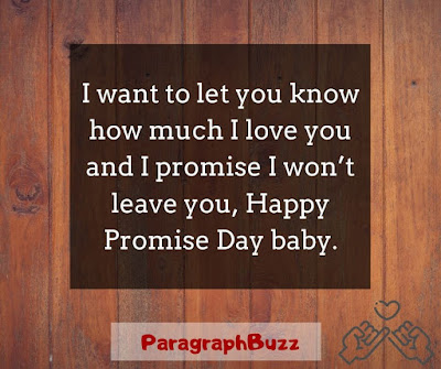 promise day wishes and messages
