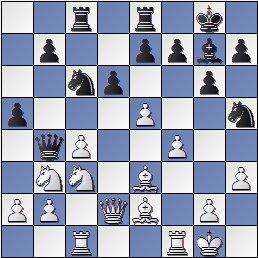 Partida de ajedrez Gamonal vs. Bum, posición después de 15… Ch5