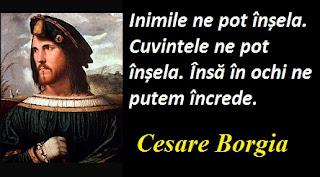 Citatul zilei: 13 septembrie - Cesare Borgia