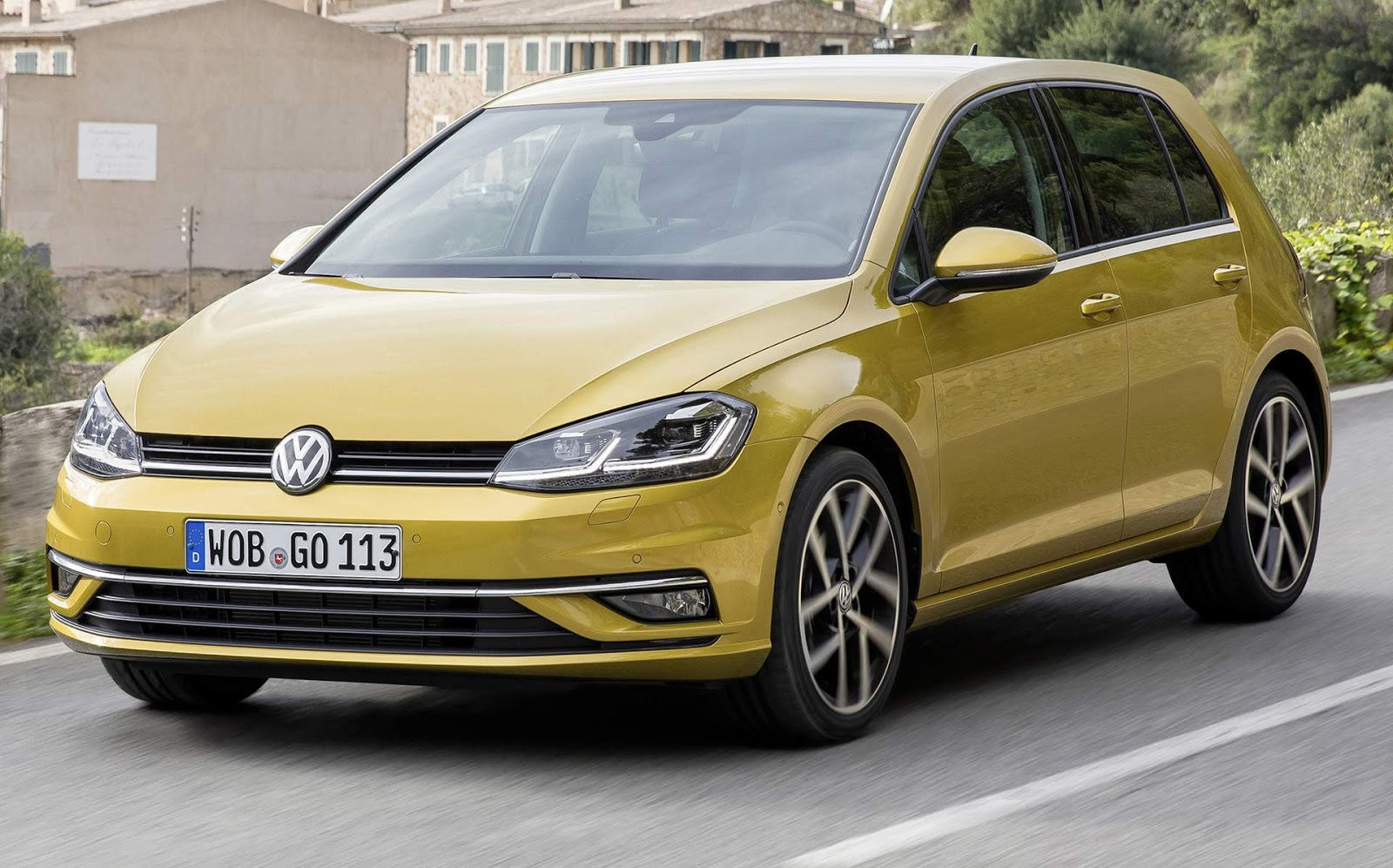 Vw golf 8 pictures