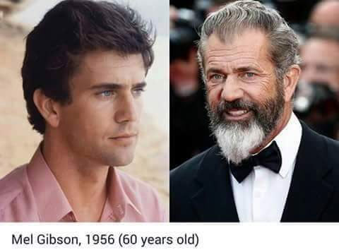 Check out these before and after pictures of popular Hollywood actors