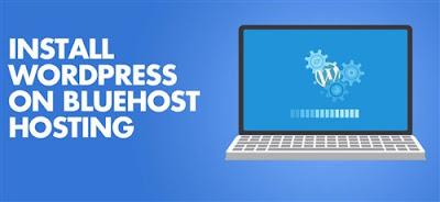 Installing Bluehost web hosting