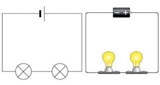 rangkaian seri listrik