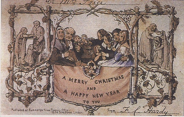 The Essence of Christmas Cards - History