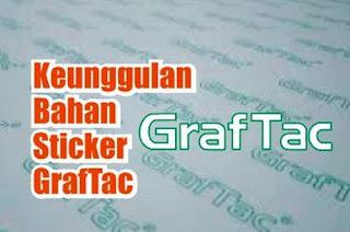 bahan sticker graftac