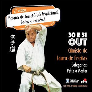 Campeonato Baiano de Karate Tradicional - 2ª Etapa