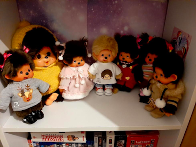 kiki Monchhichi collectionneur collectors fan lovers plushie collection