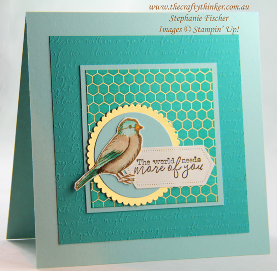 #thecraftythinker  #stampinup  #cardmaking  #saleabration  #freeasabird #scripty , Sale-A-Bration, Free As A Bird, Scripty, Stampin' Up Demonstrator, Stephanie Fischer, Sydney NSW