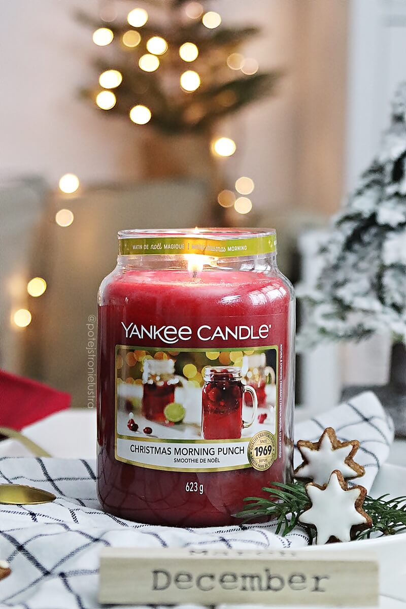 yankee candle christmas morning punch q4 2020