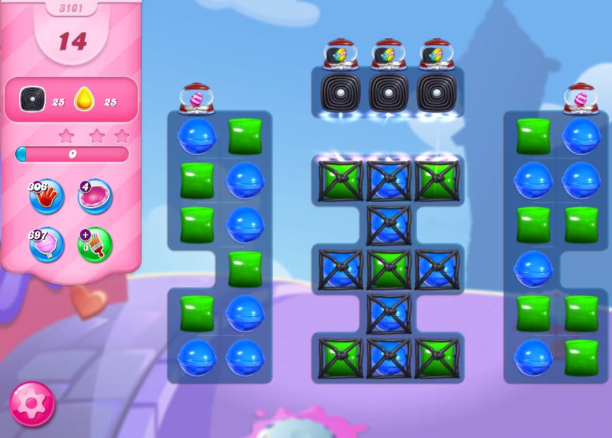 Candy Crush Saga level 3101