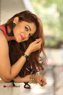 Tollywood Actress Ashwini Latest Stills in Ripped Jeans  0106.JPG
