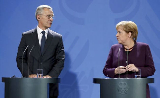 Μέρκελ: Είμαστε πολύ ανήσυχοι για τις εξελίξεις στην βορειοανατολική Συρία