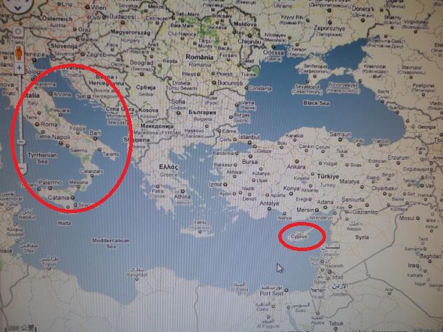 歡喜頂針 FUN THIMBLE: 賽浦路斯CYPRUS