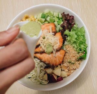 menu kuliner sehat di greenery traveloka eats
