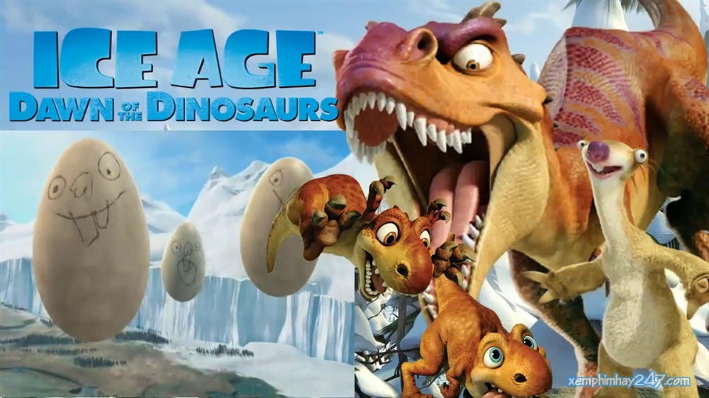 http://xemphimhay247.com - Xem phim hay 247 - Kỷ Băng Hà 3: Khủng Long Thức Giấc (2009) - Ice Age: Dawn Of The Dinosaurs (2009)