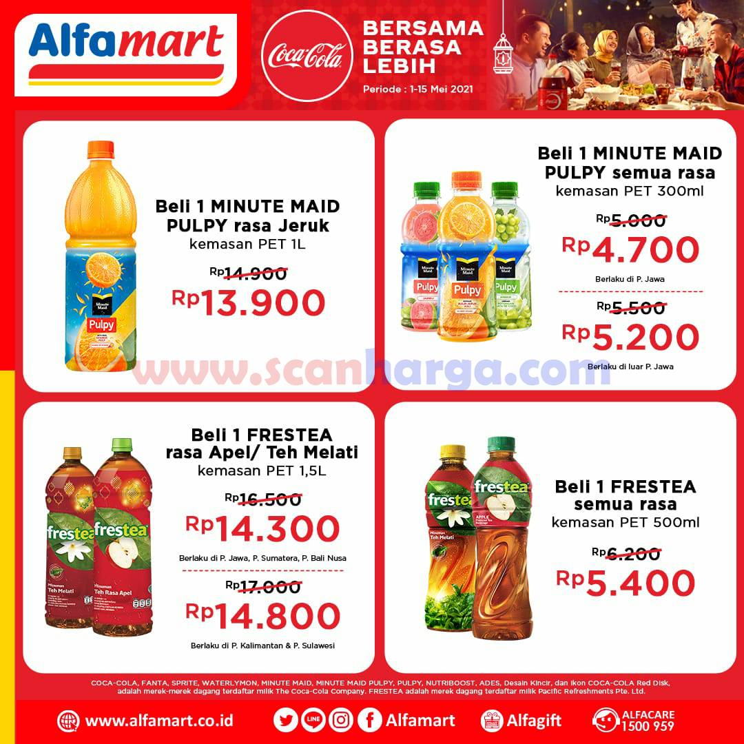 Promo Alfamart Coca Cola Fair Terbaru 1 - 15 Mei 2021 1