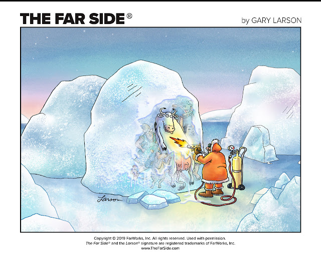 New Artwork by Gary Larson Debuts on TheFarSide.com