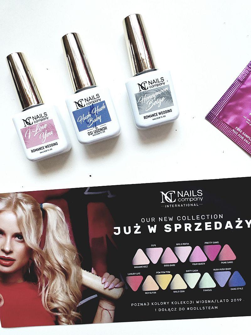 Nowe kolekcje lakierów hybrydowych DOLLS TEAM & Romance Wedding | NC Nails Company