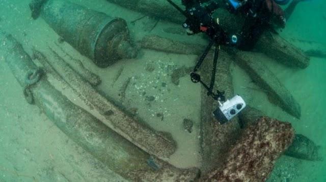 Ανακαλύφθηκε ναυάγιο πλοίου 400 ετών στην Πορτογαλία