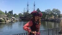Captain Redd Disney Parks Character
