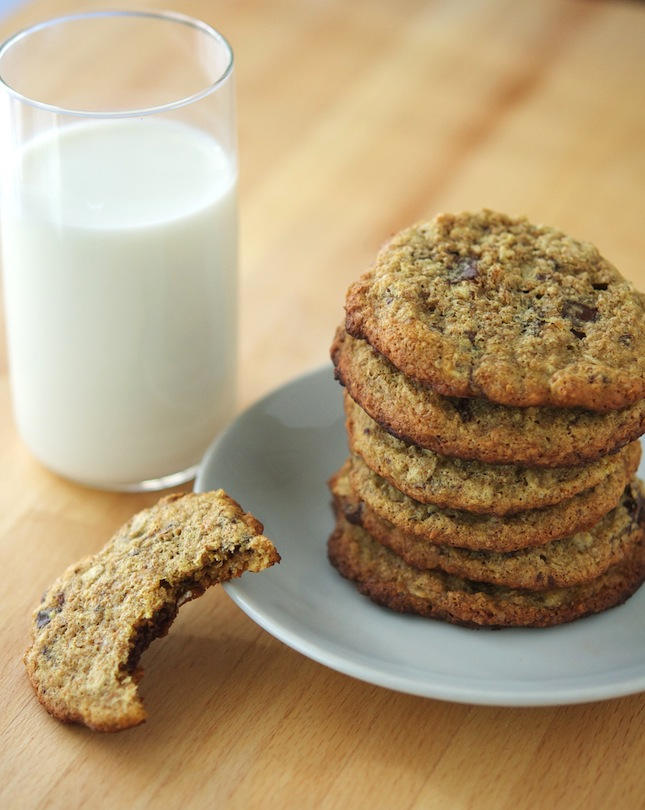 Protein Oatmeal Chocolate Chip Cookies